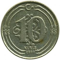 Moneta > 10kurušų, 2009-2019 - Turkija  - reverse