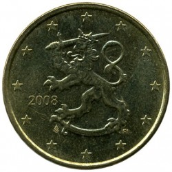 Moeda > 50cêntimosdeeuro, 2007-2018 - Finlândia  - reverse