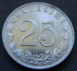 العملة > 25سنتيسيمي, 1902-1903 - إيطاليا  - reverse