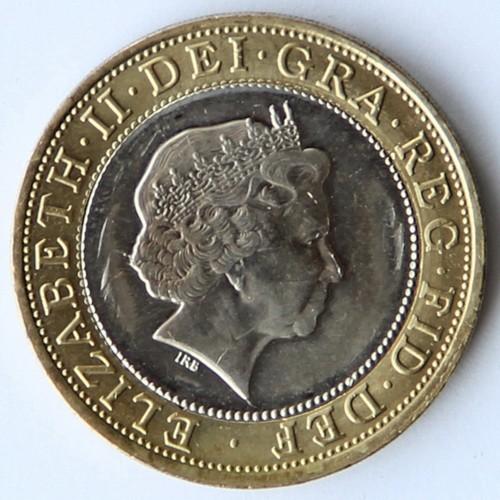 2 Pfund 2009 Charles Darwin Vereinigtes Königreich Münzen Wert
