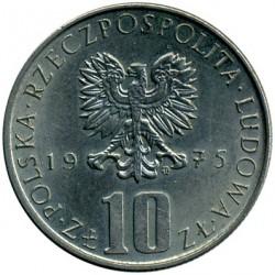 Кованица > 10злота, 1975-1984 - Пољска  (Bolesław Prus) - obverse