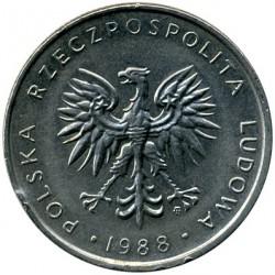 Кованица > 10злота, 1984-1988 - Пољска  - obverse