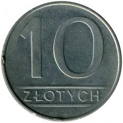 Кованица > 10злота, 1984-1988 - Пољска  - reverse