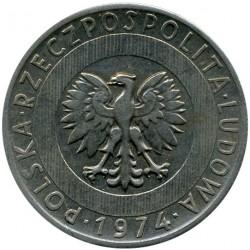 Coin > 20zlotych, 1973-1976 - Poland  - obverse