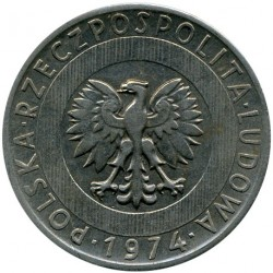Coin > 20zlotych, 1973-1976 - Poland  - reverse