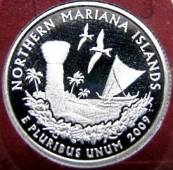 سکه > ¼دلار, 2009 - ایالات متحده آمریکا  (Northern Mariana Islands Quarter) - reverse