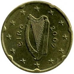 Münze > 20Eurocent, 2007-2019 - Irland   - obverse