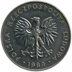 Кованица > 20злота, 1989-1990 - Пољска  - obverse