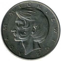 Coin > 10zlotych, 1975-1976 - Poland  (Adam Mickiewicz) - reverse