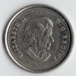 Moneta > 25centesimi, 2003-2019 - Canada  - obverse