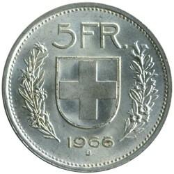 Moeda > 5francos, 1931-1969 - Suíça  - reverse