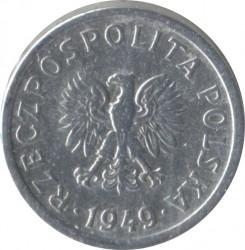 سکه > 10گروژی, 1949 - لهستان  (Aluminium, 0.7g) - obverse