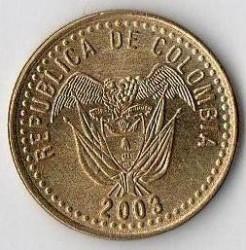Münze > 20Pesos, 2003 - Kolumbien  - obverse