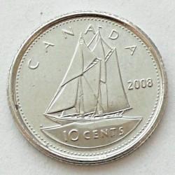 Moneda > 10centavos, 2003-2019 - Canadá  - reverse