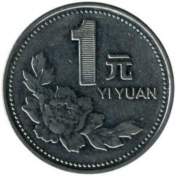 Moneta > 1juanis, 1991-1999 - Kinija  - reverse