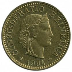 מטבע > 5ראפן, 1981-2017 - שווייץ  - obverse