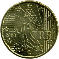 Moneta > 20centesimi, 2007-2018 - Francia  - obverse