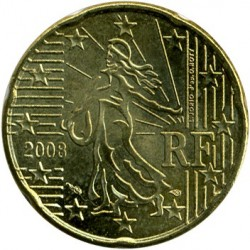 Moneta > 20centesimi, 2007-2018 - Francia  - reverse