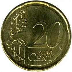 Монета > 20евроцента, 2007-2018 - Франция  - reverse