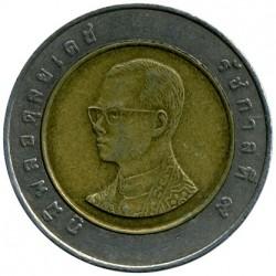 Moneta > 10bahtów, 1988-2008 - Tajlandia  - obverse