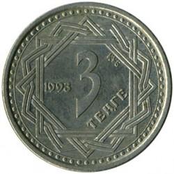 Монета > 3тенге, 1993 - Казахстан  - reverse