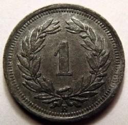 Moeda > 1rappen, 1942-1946 - Suíça  - reverse