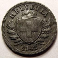 錢幣 > 2拉彭, 1942-1946 - 瑞士  - obverse