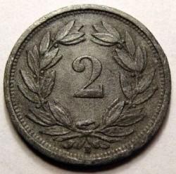 錢幣 > 2拉彭, 1942-1946 - 瑞士  - reverse