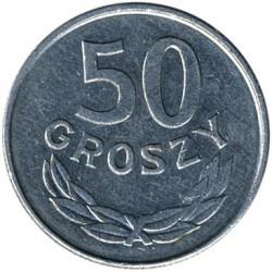 Coin > 50groszy, 1986-1987 - Poland  - reverse