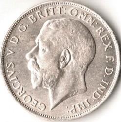 Minca > 2shillings(florin), 1920-1926 - Veľká Británia  - obverse