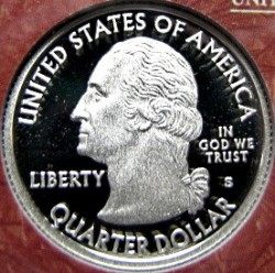 سکه > ¼دلار, 2008 - ایالات متحده آمریکا  (New Mexico State Quarter) - obverse