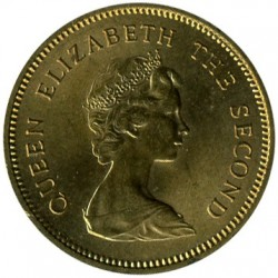 Coin > 50 cents, 1977-1980 - Hong Kong  - obverse