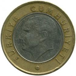 Монета > 1лира, 2011 - Турция  - obverse