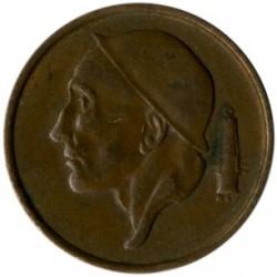 """מטבע > 50סנטים, 1956-2001 - בלגיה  (הכתובת בהולנדית - """"BELGIE"""") - obverse"""