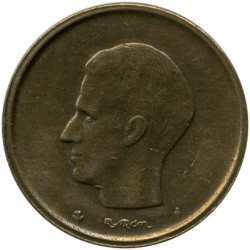 Coin > 20 francs, 1980-1993 - Belgium  (Legend in Dutch - 'BELGIE') - obverse
