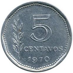 Pièce > 5centavos, 1970-1975 - Argentine  - reverse