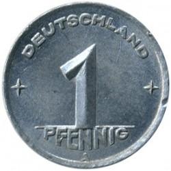 Pièce > 1pfennig, 1948-1950 - Allemagne - RDA  - reverse