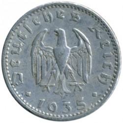 Pièce > 50reichspfennig, 1935 - Allemagne - Troisième Reich  - obverse