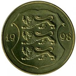 Munt > 1kroon, 1998-2006 - Estonië  - obverse