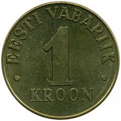 Munt > 1kroon, 1998-2006 - Estonië  - reverse