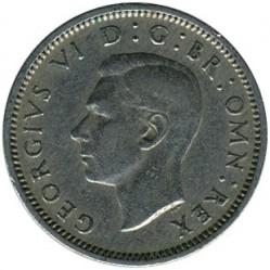 Moeda > 6pence, 1949-1952 - Reino Unido  - obverse