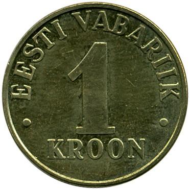 1 крон 1998 eesti vabariik информация о пользователе