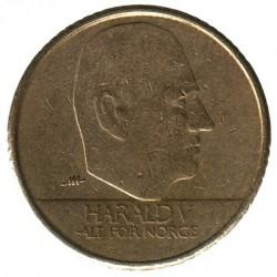 Монета > 10крон, 1995-2012 - Норвегія  - obverse