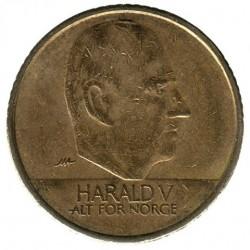 Մետաղադրամ > 10կրոն, 1995-2012 - Նորվեգիա  - obverse