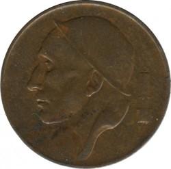 Mynt > 50centimes, 1953 - Belgien  (Legend på franska - 'BELGIQUE') - obverse