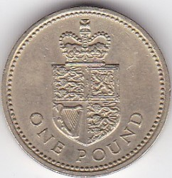 Pièce > 1livre, 1988 - Royaume-Uni  - reverse
