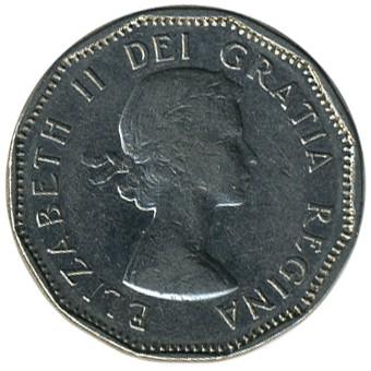 5 Cent 1955 1962 Kanada Münzen Wert Ucoinnet
