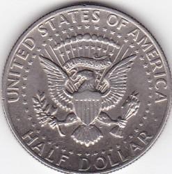 Moneda > ½dólar, 1977-2019 - Estados Unidos  (Medio Dollar Kennedy) - reverse