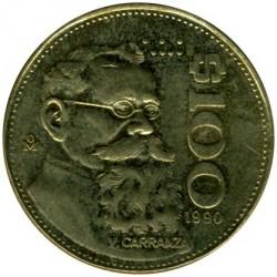 Moneda > 100pesos, 1984-1992 - México  - reverse