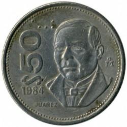 Munt > 50pesos, 1984-1988 - Mexico  - reverse